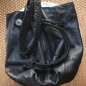 The Sak Leather Bucket Bag